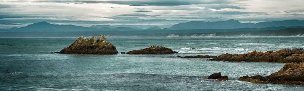 ocean beach, hells gates, macquarie harbour, tasmania