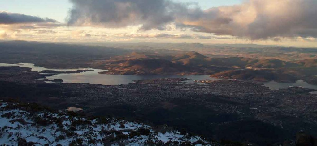 mt wellington, hobart, tasmania