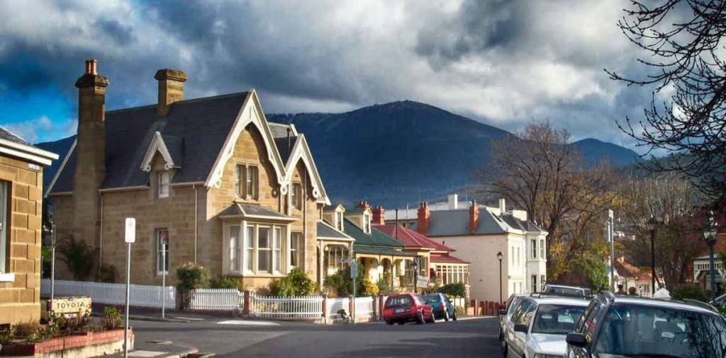 battery point, mt wellington, hobart, tasmania