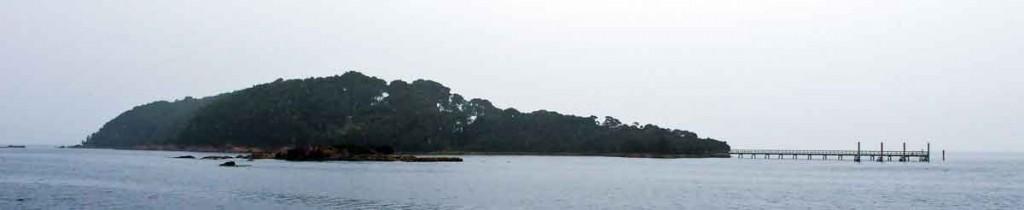 sarah island, macquarie harbour, west coast, tasmania D