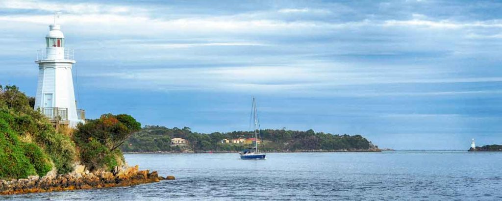 strahan, west coast of tasmania, macquarie harbour, van diemans land, gordon river