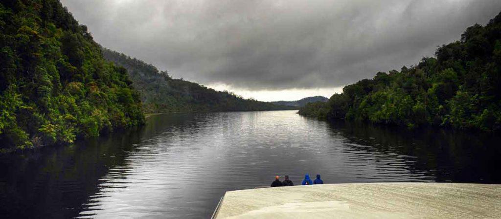 macquarie harbour, gordon river, tasmania. sarah island, hells gates, vandiemans land, heritage landing