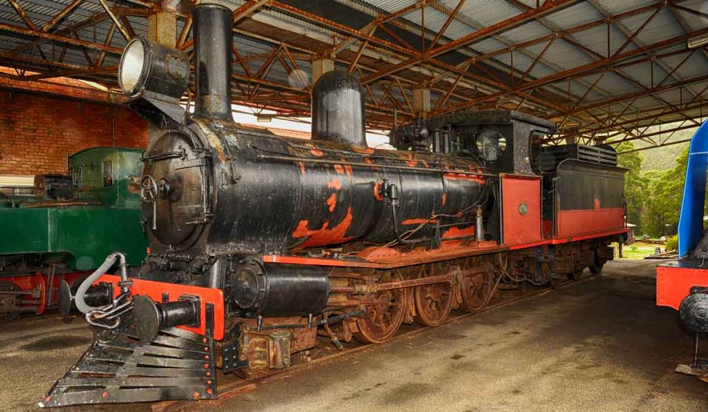zeehan, west coast of tasmania, mining in tasmania, tasmania, vandiemans land, west coast heritage centre, tasmanian railways
