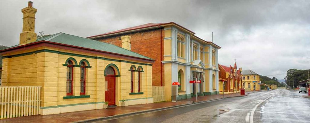main street zeehan, gaiety theatre, zeehan, west coast of tasmania, mining in tasmania, tasmania, vandiemans land, west coast heritage centre