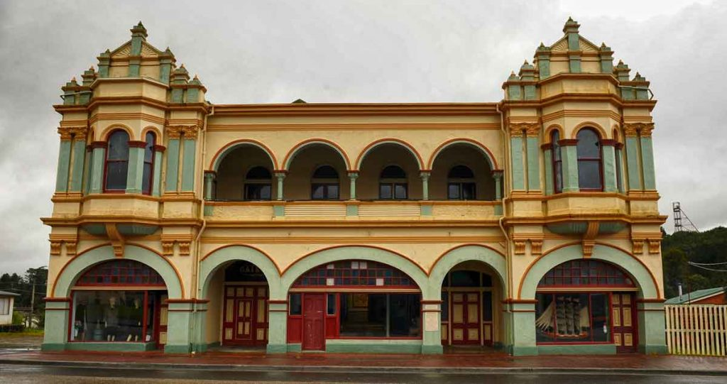 gaiety theatre, zeehan, west coast of tasmania, mining in tasmania, tasmania, vandiemans land, west coast heritage centre