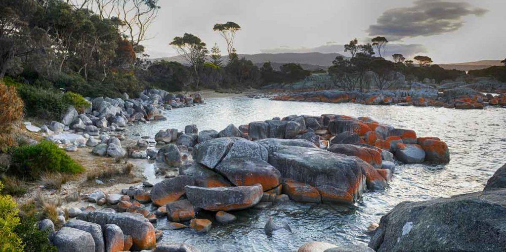 bay of fires, binnalong bay, east coast of tasmania, tasmania