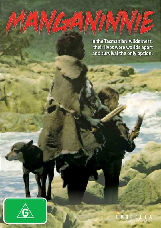 manganinnie dvd, manganinnie, tasmanian aboriginals. tasmania, aboriginal, van diemans land, tasma nia history