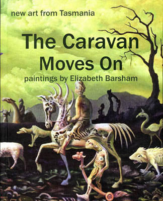 elizabeth barsham,caravan moves on, tasmanian artist,tasmanian author