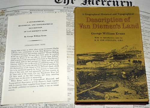 description of van diemens land,george william evans